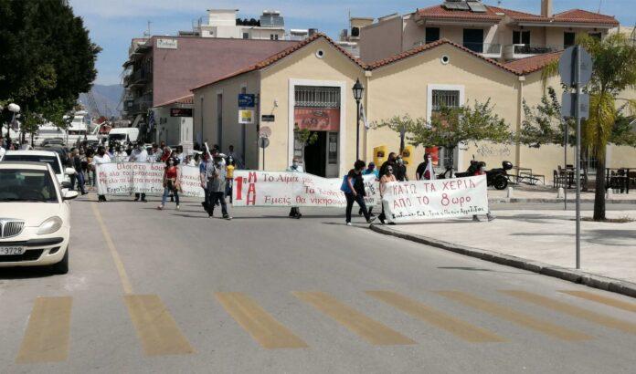 Συγκέντρωση του ΣΥΡΙΖΑ στο Ναύπλιο
