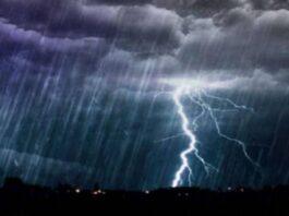 Ισχυρές βροχές και καταιγίδες το Σάββατο